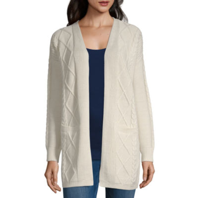 Peyton & Parker Long Sleeve Open Front Cardigan