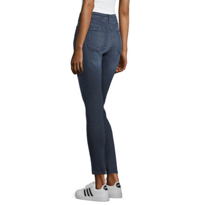 Arizona Womens Mid Rise Jeggings - Juniors