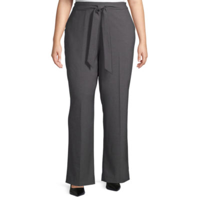 Worthington Tie Waist Trouser – Plus