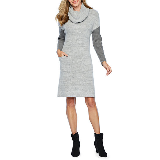 Vivi By Violet Weekend Sweater Dresses Long Sleeve Shift Dress