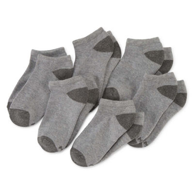 Xersion Boys 6 Pair No Show Socks-Big Kid