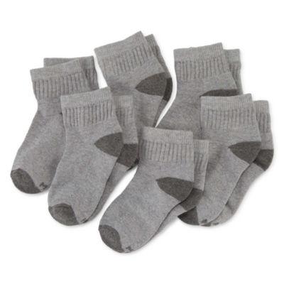 Xersion 6 Pair Quarter Socks