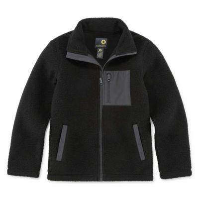 Xersion Fleece Water Resistant Heavyweight Jacket-Big Kid Boys