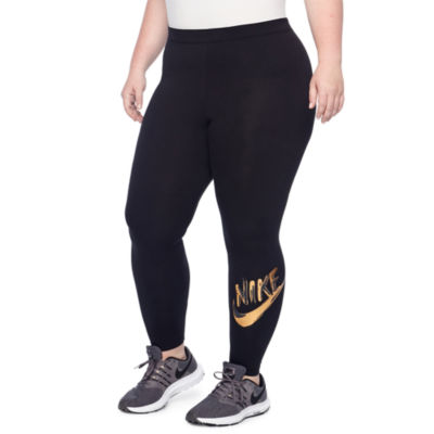 Nike Metallic Leggings - Plus