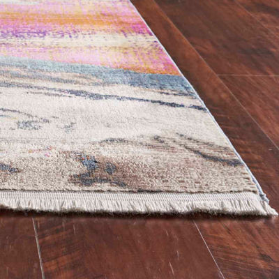 Kas Papillon Surf Line Rectangular Indoor Accent Rug