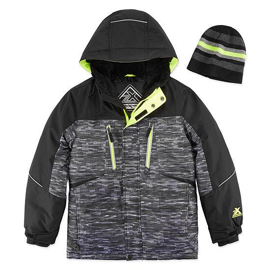 9c3b88169 Zeroxposur Boys Snowboard Jacket-Big Kid