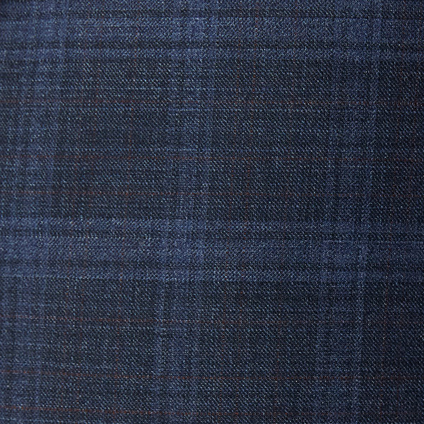 Collection by Michael Strahan  Blue Plaid Stretch Suit Jacket-Big and Tall
