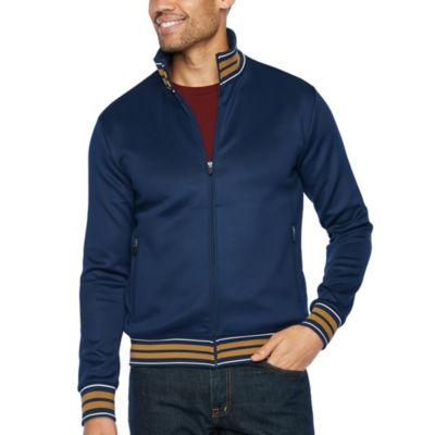 JF J.Ferrar Long Sleeve Knit Jacket