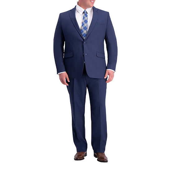 Haggar Stretch Travel Performance Big and Tall Suit Separates
