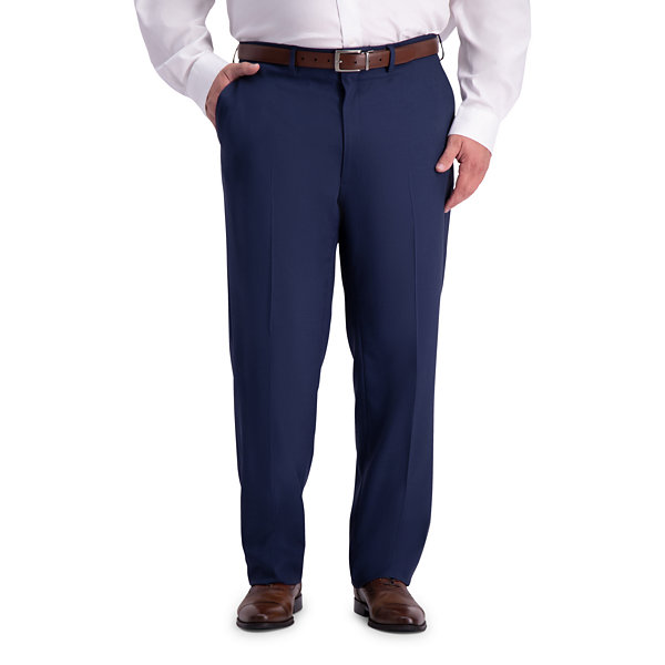Haggar - Big and Tall Classic Fit Stretch Suit Pants