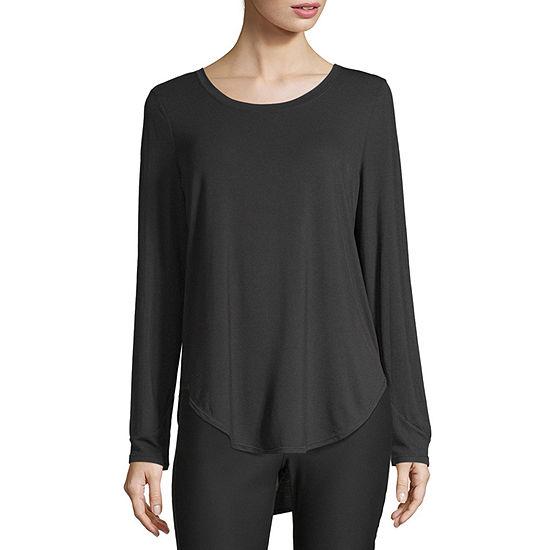 Xersion Shirttail Hem Tee- Tall