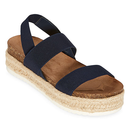 a.n.a Coy Womens Footbed Sandals