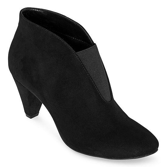 East 5th Womens Quintella Block Heel Booties