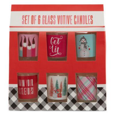 Tri-Coastal Design Holiday 6-pc. Votive Candle Set