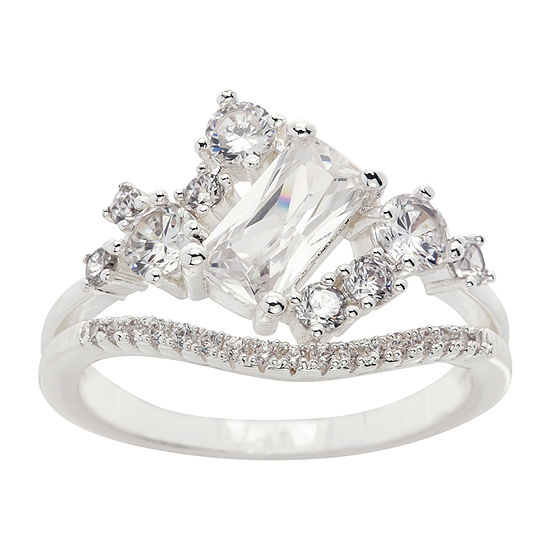 Sparkle Allure Cubic Zirconia Cocktail Ring