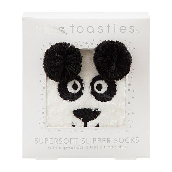 Totes Super Soft 1 Pair Slipper Socks Womens