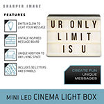 Sharper Image Mini LED Cinema Light Box