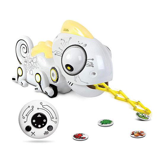 Sharper Image Color-Changing Robotic Hungry Chameleon