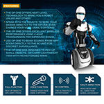 Sharper Image Humanoid Remote Control OP One Robot