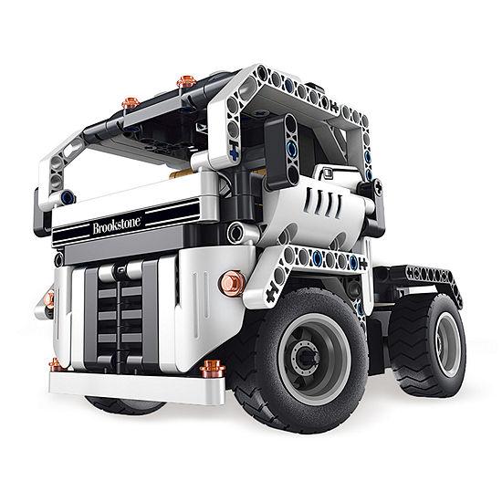 Brookstone BYO Transforming Off-Road R/C Truck - Trailer / Dump Truck