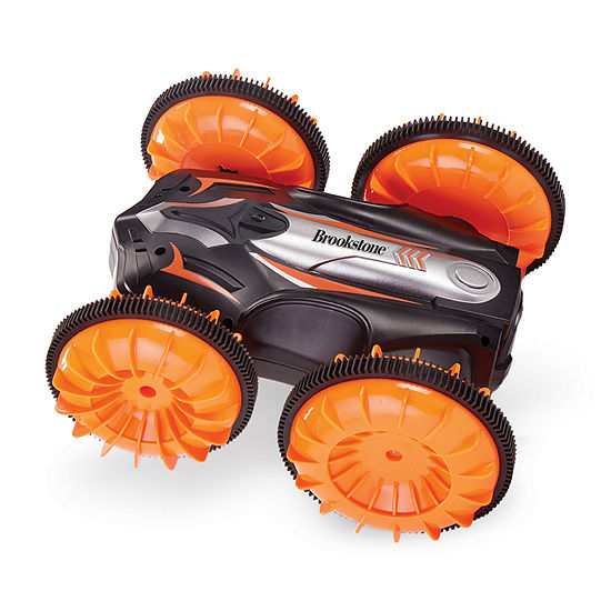 Brookstone Land/Water: High Speed, Amphibious Stunt R/C Vehicle