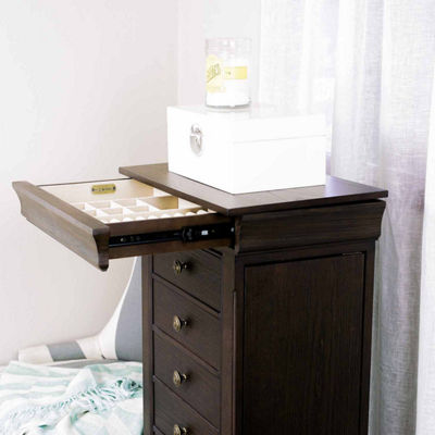 Hives & Honey Haley Chocolate Jewlery Armoire