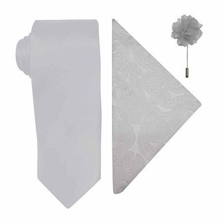 JF J.Ferrar Tie, One Size , Gray
