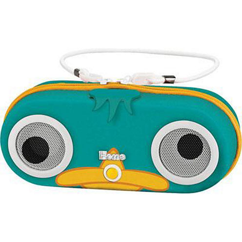 Kiddesigns EK-DF-M13 Phineas and Ferb Portable Water Resistant Speaker