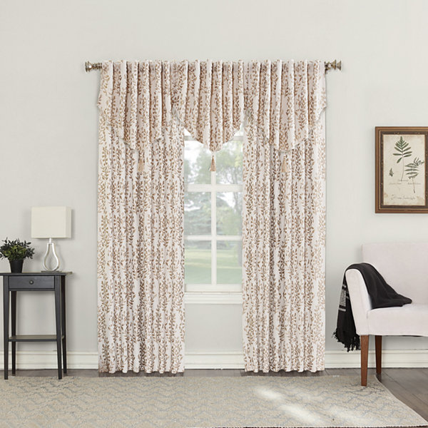 Sun Zero Rona Blackout Back-Tab Curtain Panel