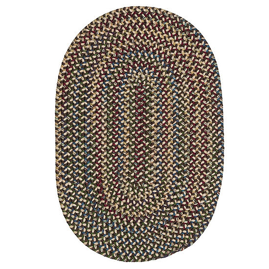 Colonial Mills Andreanna Reversible Braided Oval Rug