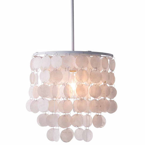 Zuo Modern Shell White Pendant Light