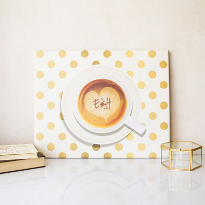Cathy's Concepts Personalized Espresso Coffee Canvas