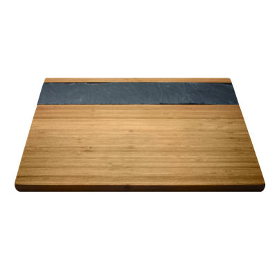 Epicureanist Bamboo & Slate Cheese Board