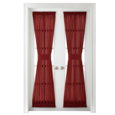 Plaza Thermal Interlined Rod-Pocket Door Panel