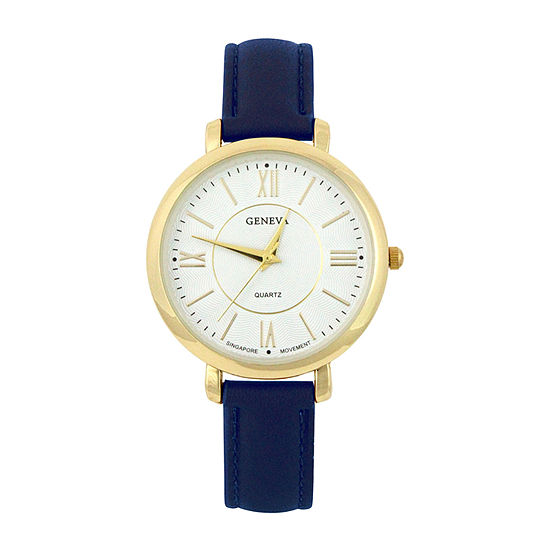 Mixit Womens Blue Strap Watch-Pts2055gdnv