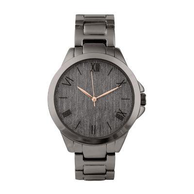 Geneva Womens Black Bracelet Watch-Pts3362gm
