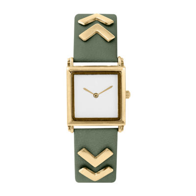 Decree Chevron Band Womens Strap Watch-Pts2986gdol
