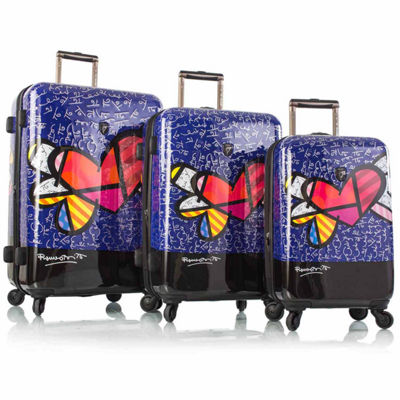 Heys Britto Hearts Wings Hardside Luggage Collection