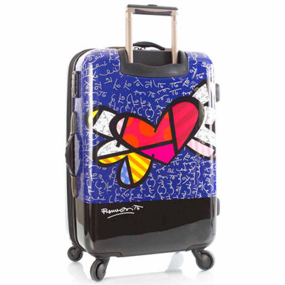 Heys Britto Hearts Wings 26 Inch Hardside Luggage