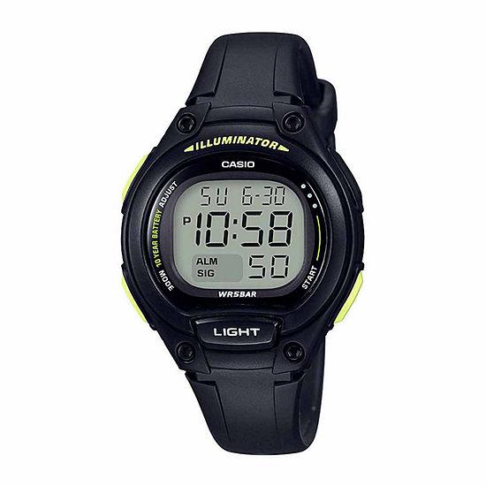 Casio Womens Blue Strap Watch-Lw203-1b