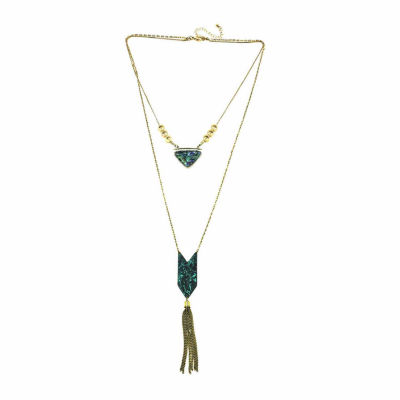 a.n.a Womens Pendant Necklace