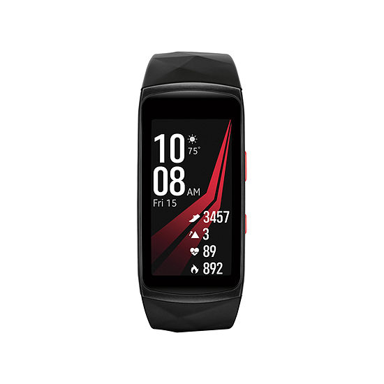 Samsung Gear Fit2 Pro (Large) Unisex Red Smart Watch-Sm-R365nzraxar
