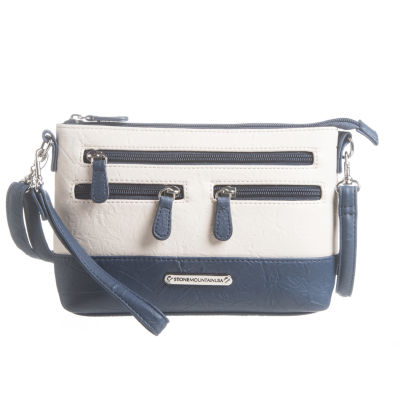 Stone Mountain Plugged-In 4-Bagger Leather Crossbody Bag