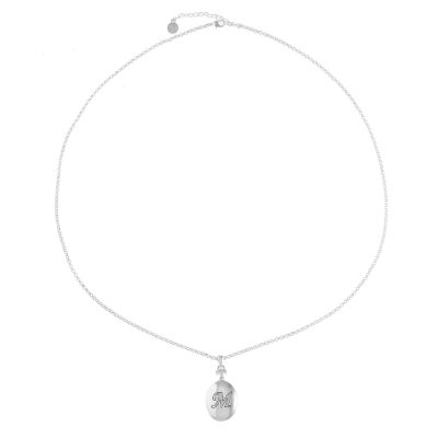 Liz Claiborne Womens Clear Locket Necklace
