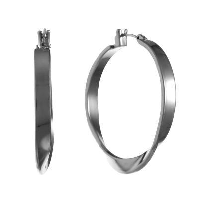Liz Claiborne 36mm Hoop Earrings