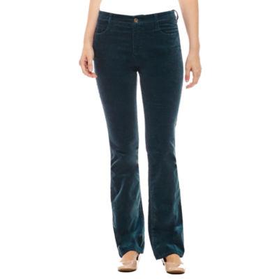 St. John's Bay Bootcut Corduroy Pants - Talls
