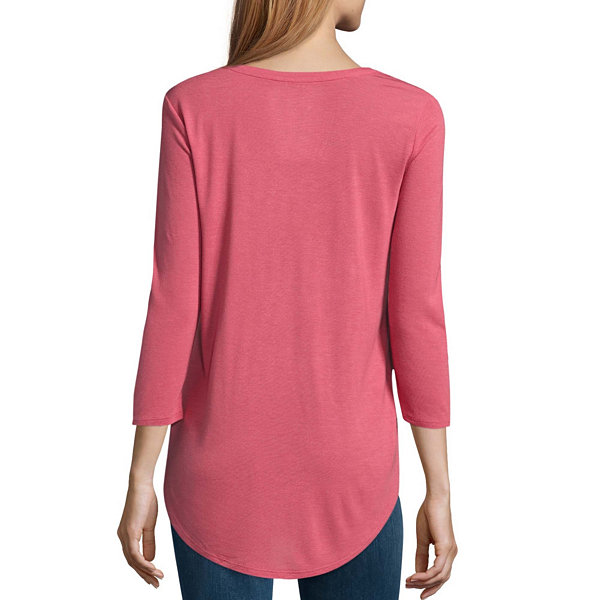 A.N.A 3/4 Sleeve Scoop Neck T-Shirt - Tall