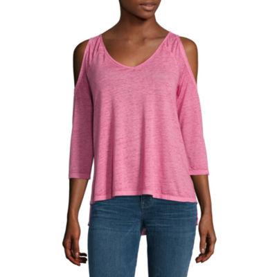 A.N.A 3/4 Sleeve V Neck T-Shirt - Tall