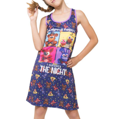 Sleeveless Nightgown-Big Kid Girls