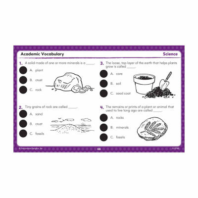 Educational Insights Hot Dots® Academic Vocabulary Card Set — Grades 1-3